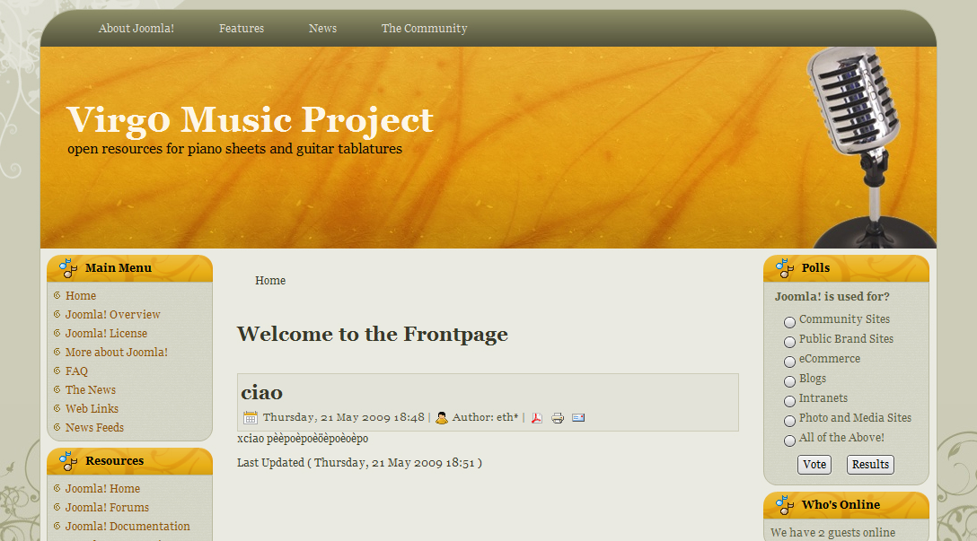 Virg0 Music Project