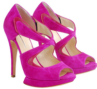 Bright Pink Spring Shoes Nicholas2
