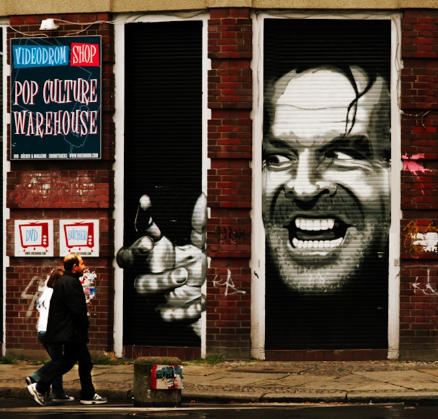 Street Art - Jack Nicholson