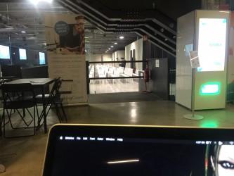Vista su The Hub